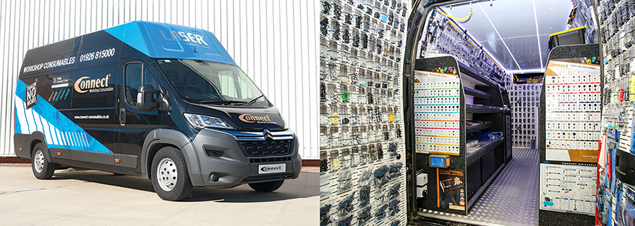 See the UK's most dynamic consumables range first hand with a visit from the new Connect Workshop Consumables Tech Van