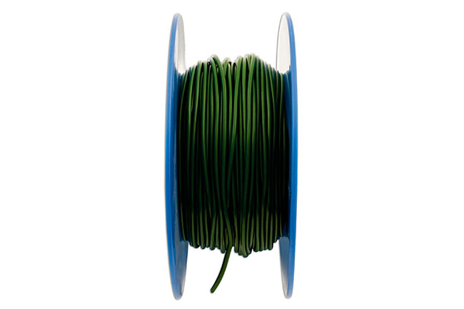 30033 Green Thin Wall Single Core Cable 28/0.30 50m