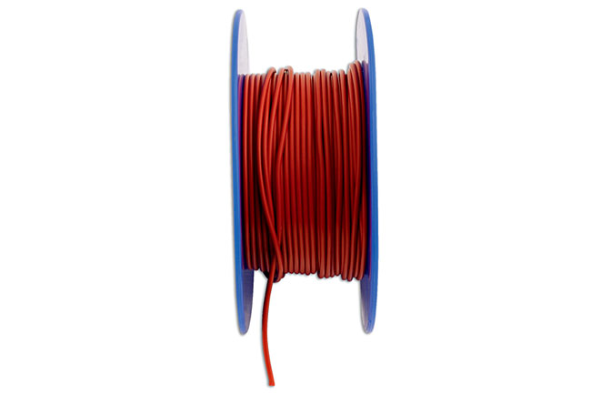 30025 Red Thin Wall Single Core Auto Cable 32/0.20 50m