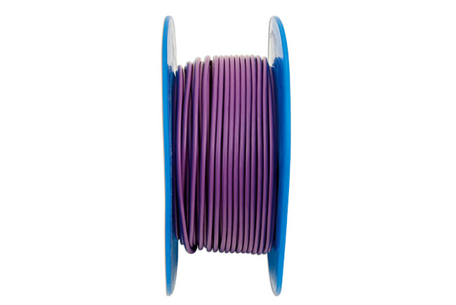 30034 Purple Thin Wall Single Core Cable 28/0.30 50m