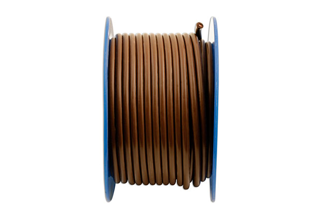 30046 Brown Cable Single Core Auto Cable  120/0.30  30m