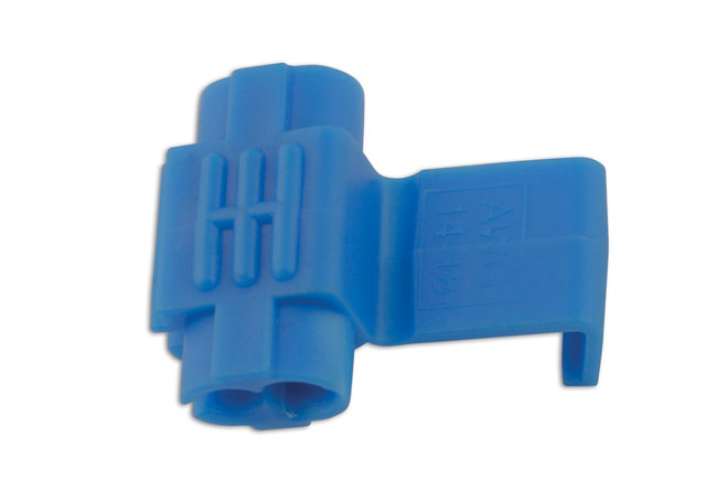 30246 Blue Splice Connector 0.75-2.5mm 100pc