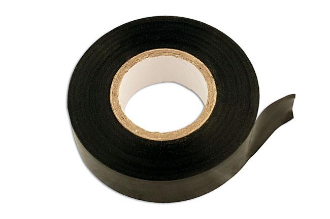 30374 Black  PVC Insulation Tape 19mm x 20m - Pack 50