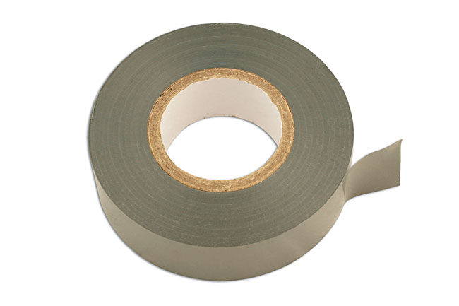 30379 Grey PVC Insulation Tape 19mm x 20m - Pack 10