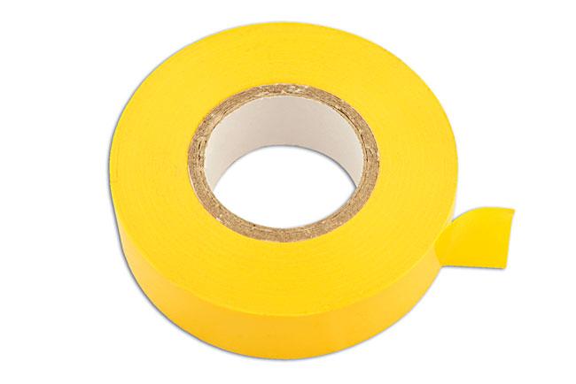 30382 Yellow PVC Insulation Tape 19mm x 20m 10pc