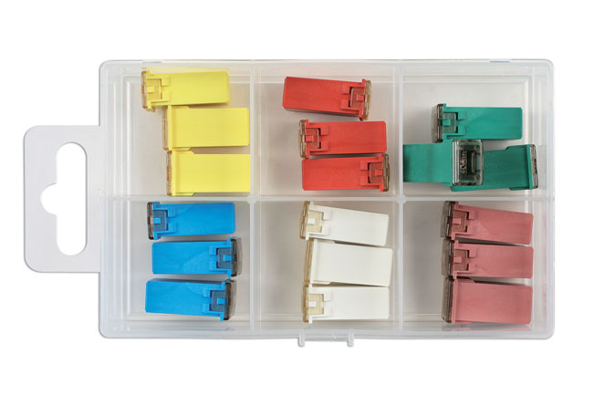 30720 Assorted J Type Fuses - 18 Pieces
