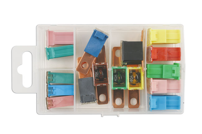 30725 Assorted PAL & J Type Fuses 16pc
