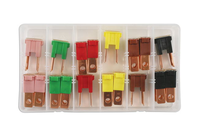 30726 Assorted PAL Male Fuses  - 18 Pieces