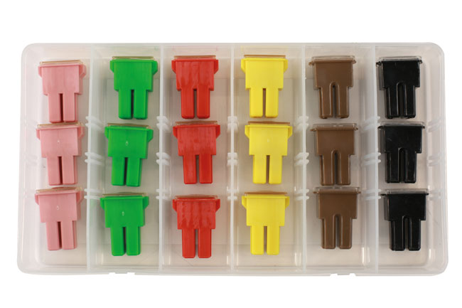 30727 Assorted PAL Female Fuses - 18 Pieces