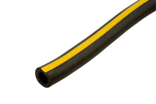 30900 Rubber Black & Yellow Air Hose 6.3mm x 15m