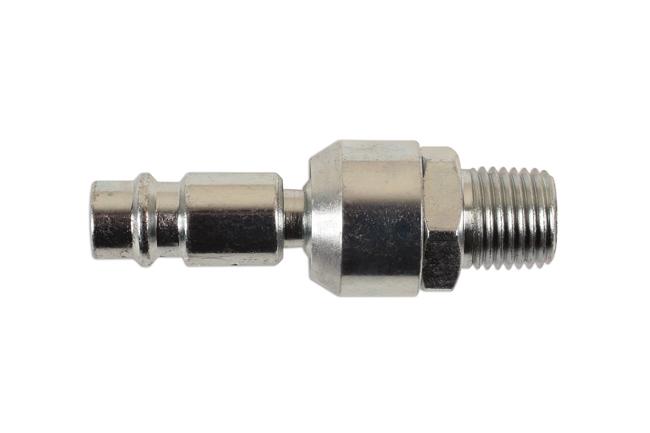 30961 Euro Swivel Male Adaptor 1/4 BSPT 1pc