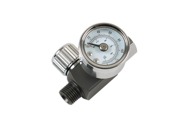 "~/items/xlarge/Right image of Connect Workshop Consumables | 30970 | Needle Air Regulator 1/4"" for Spray Guns"