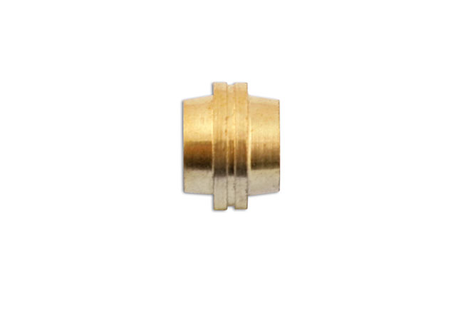 31144 Brass Olive Stepped 10mm - Pack 100