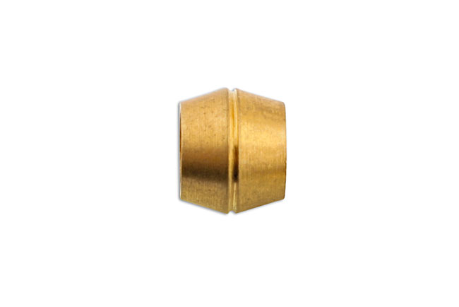 31150 Brass Olive Barrel 10mm 100pc