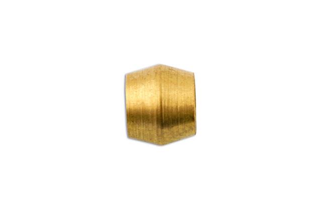 31164 Brass Olive Barrel 1/2in 50pc