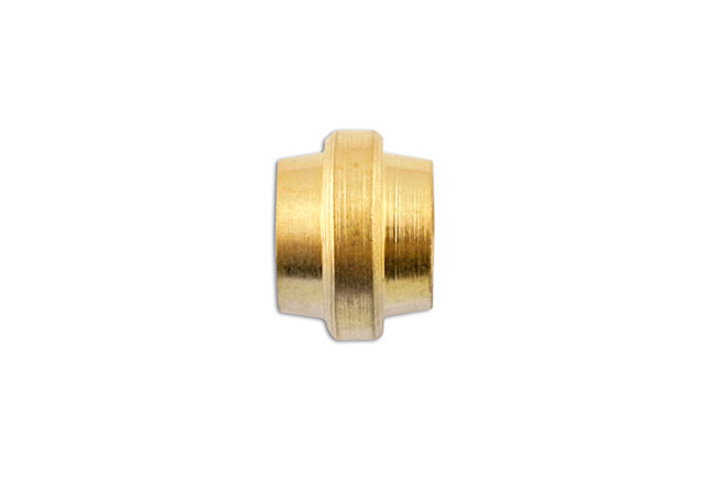 31174 Brass Olive Stepped 1/2in - Pack 50