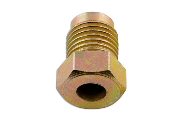 31184 Short Male Brake Nut 10 x 1mm - Pack 50