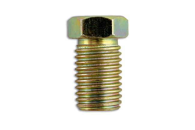 31193 Full Thread Male Brake Nut 10 x 1.25mm - Pack 50