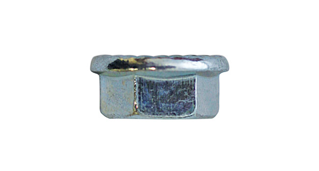 31368 Serrated Flange Nuts 8mm - Pack 100