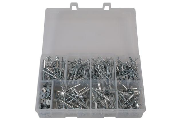 31843 Assorted Popular Rivets - 475 Pieces