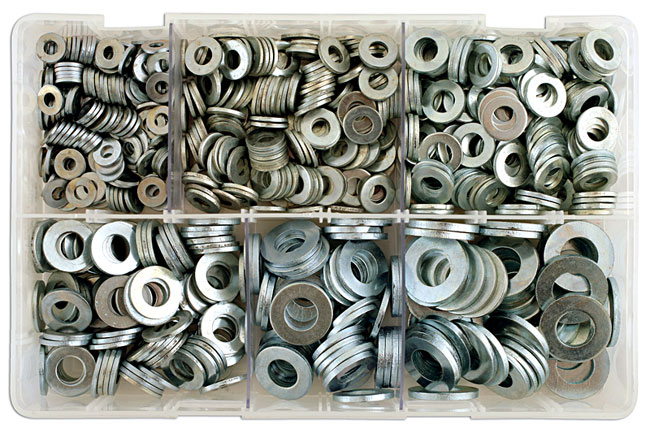 31864 Assorted Table 3 Washers Box - 800 Pieces
