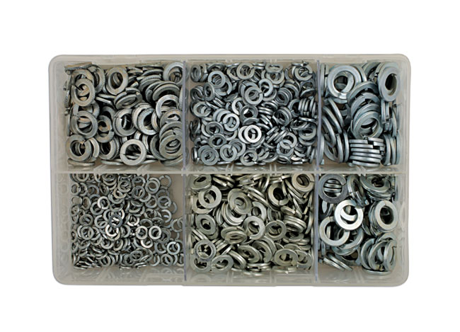 Connect 31885 Assorted Compression Washers Box 250 Pieces