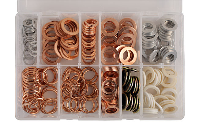 31869 Assorted Sump Plug Washers Box 250pc