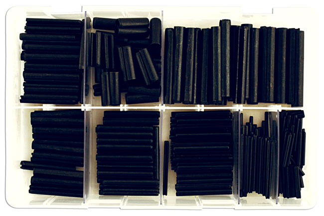 31877 Assorted Spring Roll Pins MM Box - 300 Pieces