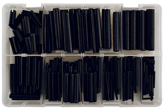 31878 Assorted Spring Roll Pins Imp. Box - 385 Pieces