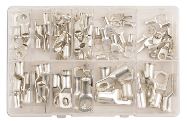 31884 Assorted Copper Tube Terminals Box - 80pc