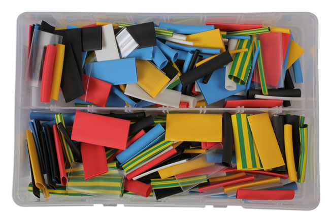 31894 Assorted Coloured Heat Shrink Box - 300 Pieces