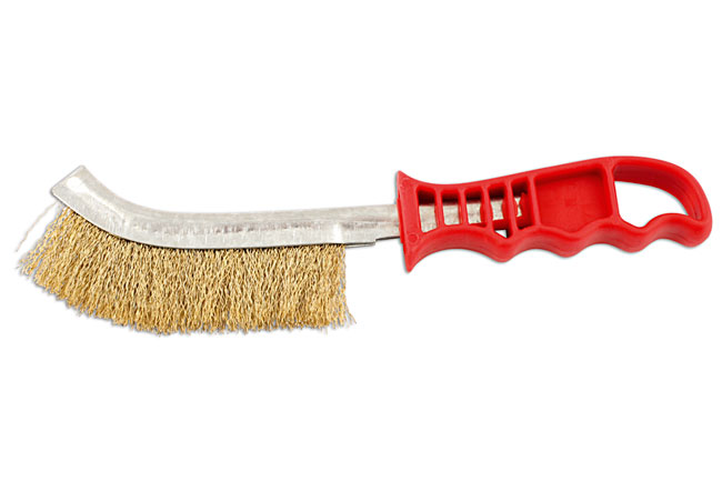 32124 Abracs Brass Wire Scratch Brush 4pc