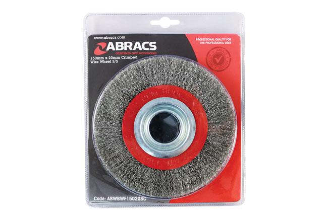 32135 Abracs Bench Grinder Brush 150mm x 20mm 1pc
