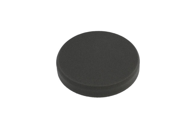 32272 Finishing Flat Velcro Black Pad 1pc