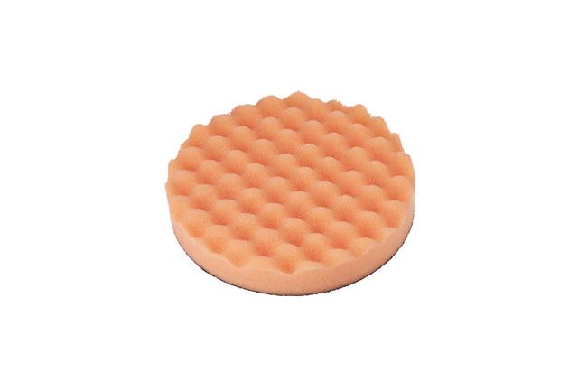 32274 Polishing Corrugated Velcro Orange Pad 1pc