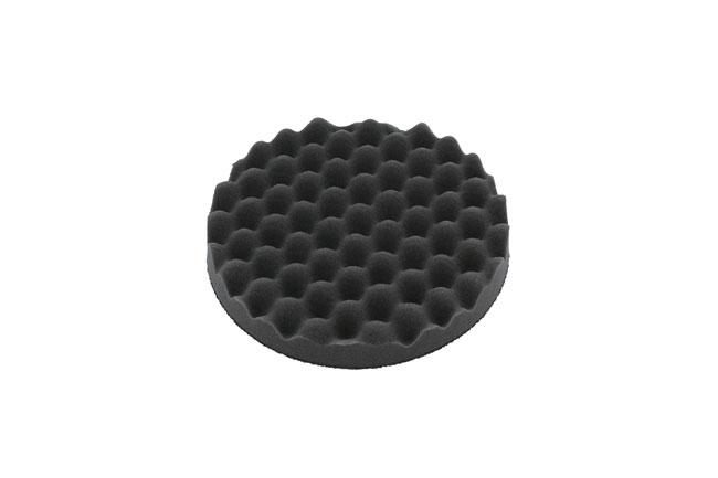 32275 Finishing Corrugated Velcro Black Pad 1pc