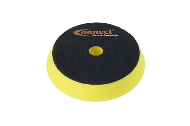 32280 Polishing Bevel Edge Velcro Yellow Pad 1pc