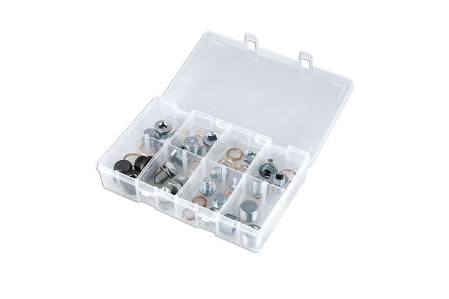 32754 Sump Plug Assortment Euro 24 plugs plus washers to suit
