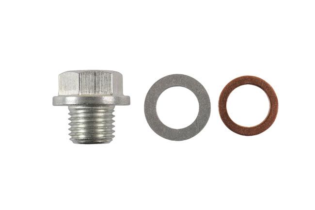 32757 Sump Plug Kit to suit Daihatsu, KIA, Mitsubishi, Suzuki