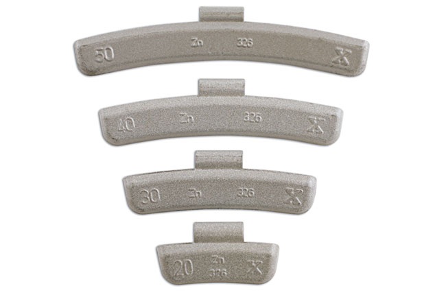 32854 Wheel Weights for Alloy Wheels 10gram - Pack 100