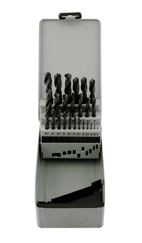 32994 HSS Drill Set - Metric - 25 Pieces