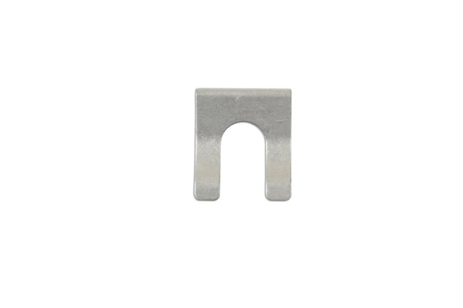 34103 Brake Hose Clips Silver 28.2mm x 23mm 10pc
