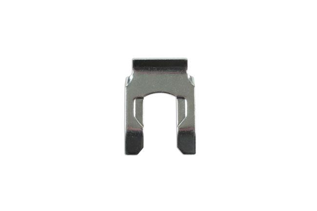 34104 Brake Hose Clips Silver 39.6mm x 28.4mm - Pack 10
