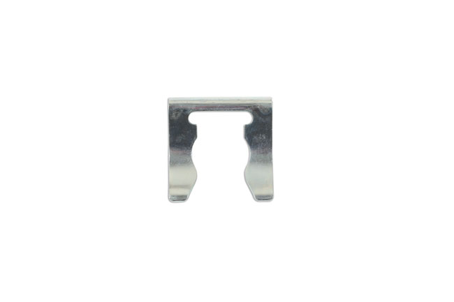 34106 Brake Hose Clips Silver 25.2mm x 24mm - Pack 10