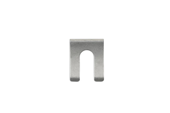 34109 Brake Hose Clips Silver 31mm x 24.5mm - Pack 10