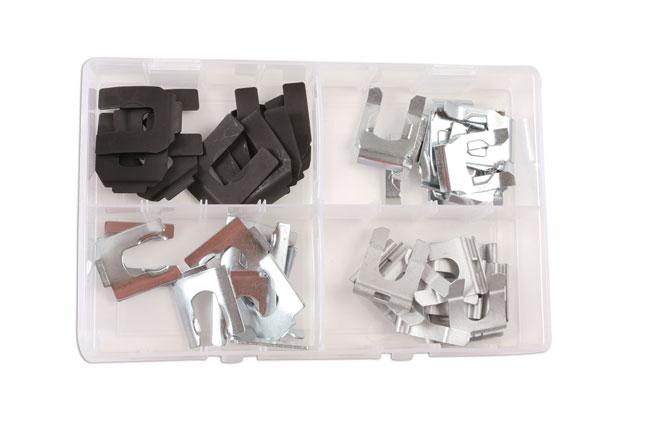 34155 Brake Hose Clips 35 - 40mm Set 40pc