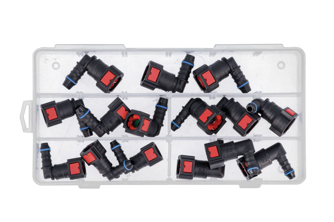 34228 Assorted 90° Angled AdBlue® Quick Connectors 15pc