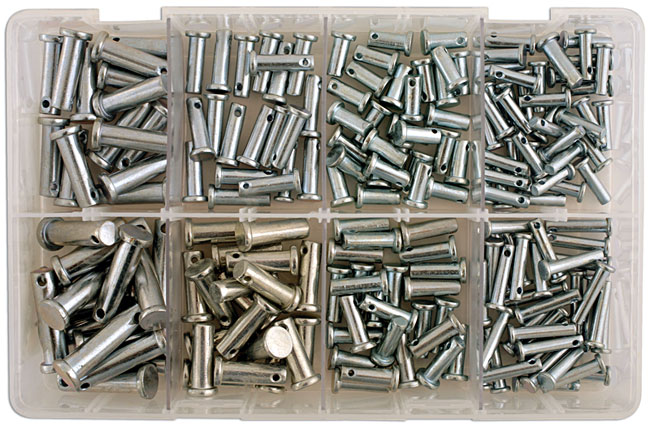 35013 Assorted Clevis Pins Box -175 Pieces