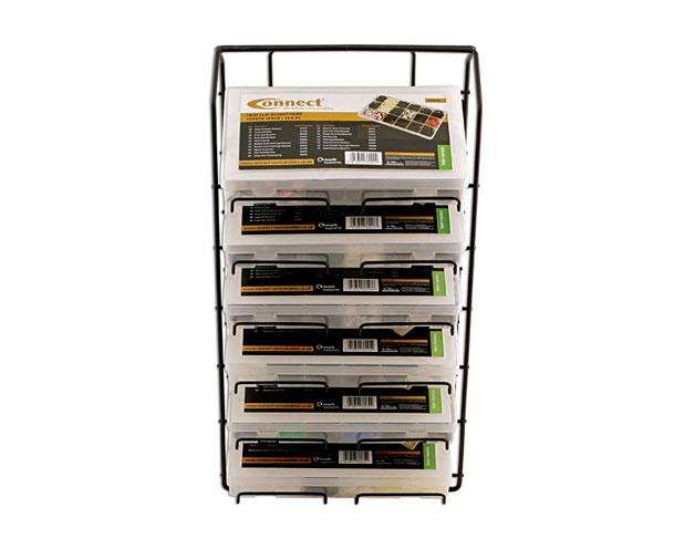 35017 Assorted Box Rack 6 Tier To Suit Trim Clip Boxes