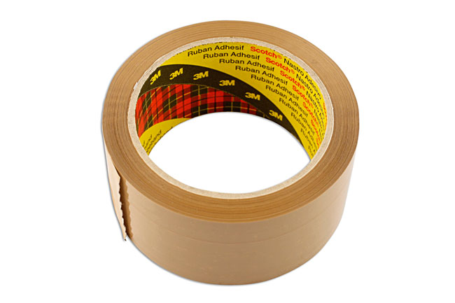 35217 Brown Parcel Tape 50mm x 66m Box - Pack 36